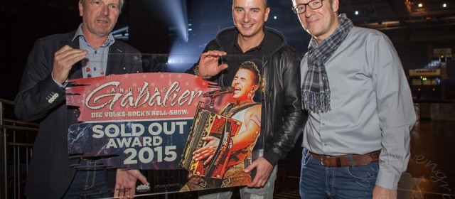 Verleihung des Sold Out – Award an Andreas Gabalier & C² CONCERTS GmbH
