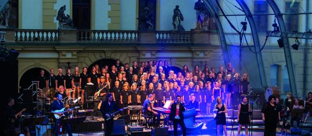 Atomic Brick Orchestra @ KSK-Music-Open 2016 – 03.08.2016 – Ludwigsburg – Schloss