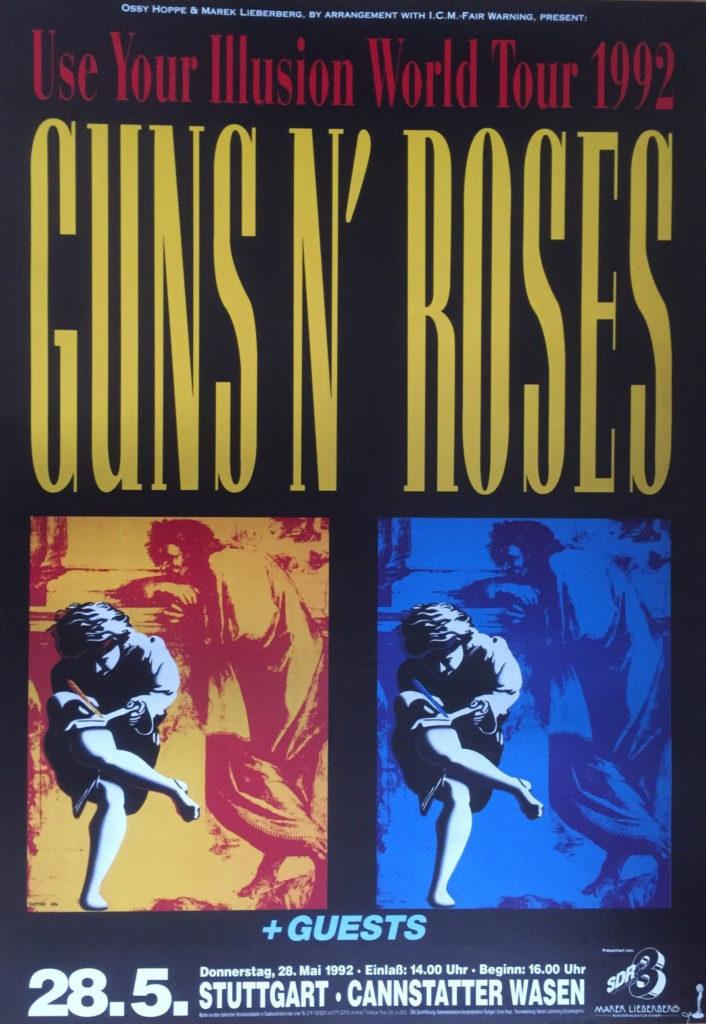 roses1992konzertplakat