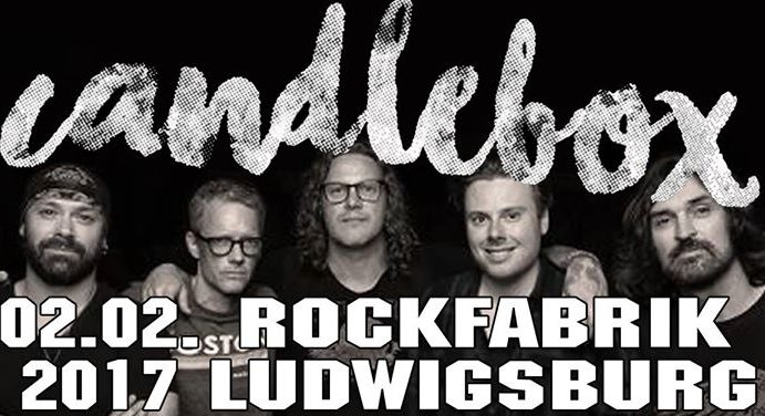 Candlebox // 02.02.2017 // Ludwigsburg // Rockfabrik