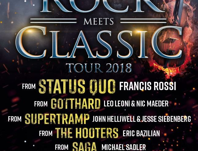 Rock meets Classic 2018 am 17.04.2018 in der MHP-Arena in Ludwigsburg