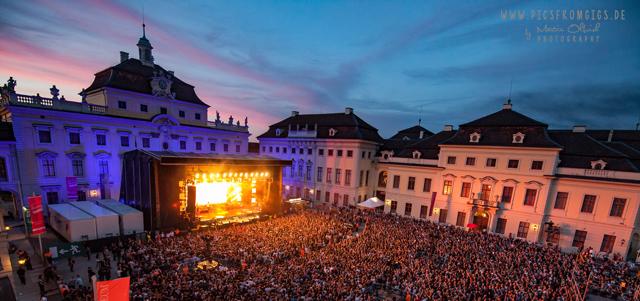 Residenzschloss Ludwigsburg ist bereit für die Open-Air Saison 2018