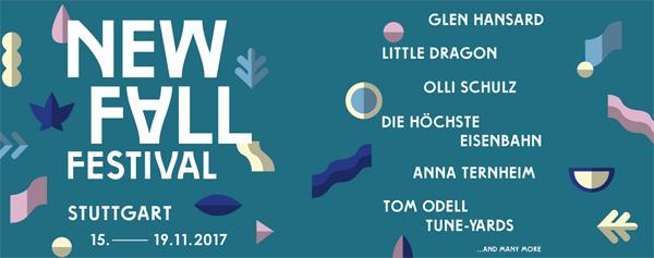 New Fall Festival 2017 // 15.11-19.11.2017 // Stuttgart