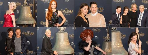 """Auch die prominenten Gäste sind vom neuen Stuttgarter Musical """"Der Glöckner von Notre Dame"""" tief beeindruckt."""