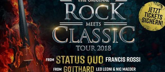 Rock meets Classic 2018 // 17.04.2018 // Ludwigsburg // MHP-Arena
