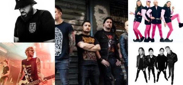 Bands u.a. aus San Francisco – Frankfurt – Orlando – Erlangen – Eislingen zu Gast vom 09.04.- 15.04.2018 in Stuttgart und Umgebung