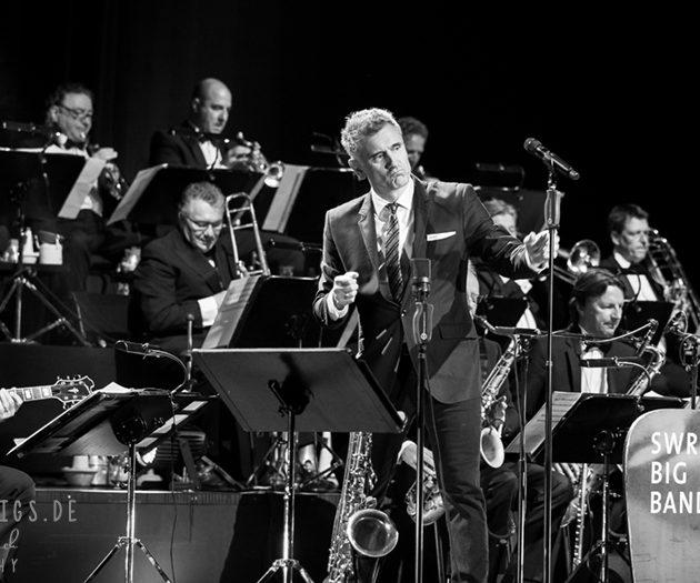 Curtis Stigers und SWR Big Band  // 27.04.2018 // Stuttgart // Theaterhaus
