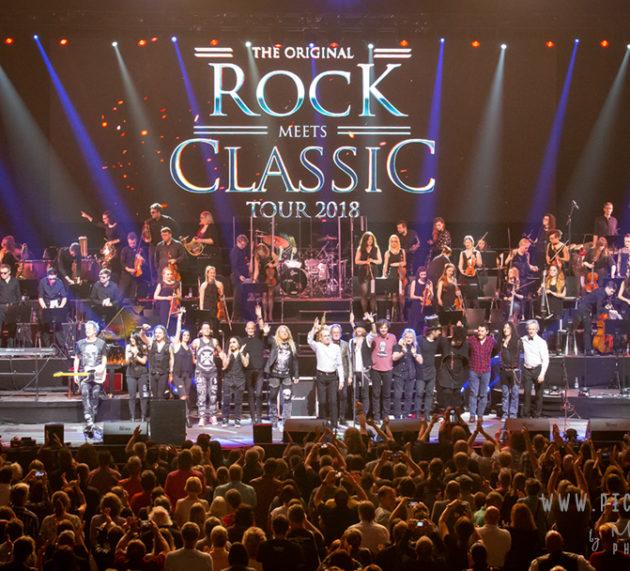 Rock meets Classic 2018 in der MHP-Arena in Ludwigsburg. Bericht und Bilder