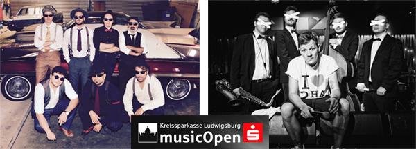 Die ersten lokalen Support-Acts bei den KSK-Open 2018 in Ludwigsburg stehen fest !
