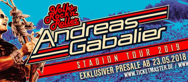 Andreas Gabalier geht 2019 auf Stadiontour. Am 29.06.2019 in der Mercedes-Benz-Arena in Stuttgart.