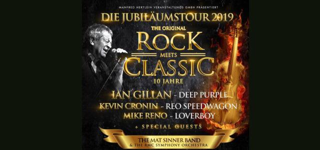 Rock meets Classic 2019. Die ersten Künstler und Termine stehen fest.