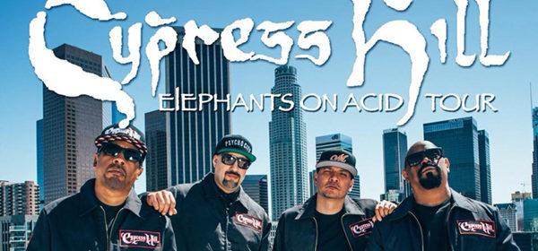 Cypress Hill. Im Dezember 7 Mal in Deutschland. Tourstart am 8.12.2018 in der Porsche-Arena in Stuttgart.
