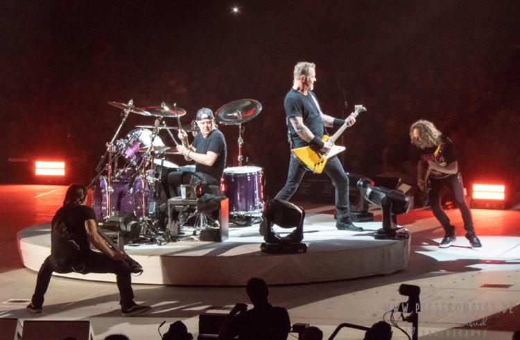 Metallica Europe 2019 auf Open-Air-Tour. Am 25.08.2019 auf dem Maimarkt in Mannheim