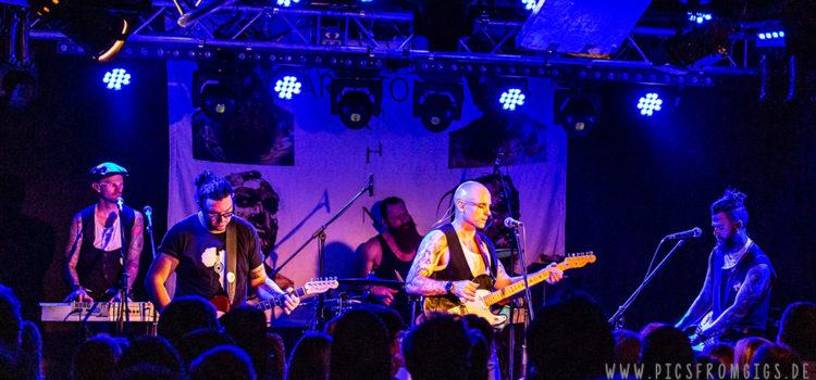 The Parlotones // 25.10.2018 // Stuttgart // Club Zentral