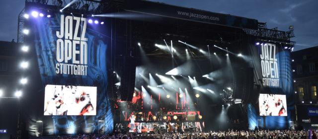 JAZZ-Open Stuttgart 2019: Die ersten Konzerte auf dem Schlossplatz sind bekannt !!