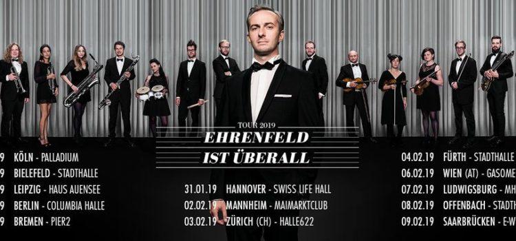 JAN BÖHMERMANN & DAS RUNDFUNK TANZORCHESTER EHRENFELD // 07.02.2019 // Ludwigsburg