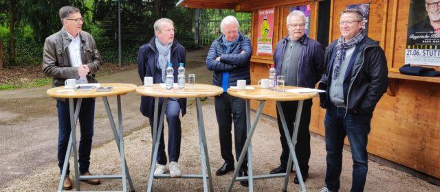 Stuttgarts Konzert-Veranstalter stellen das Sommerprogramm der SpardaWelt Freilichtbühne auf dem Killesberg vor.