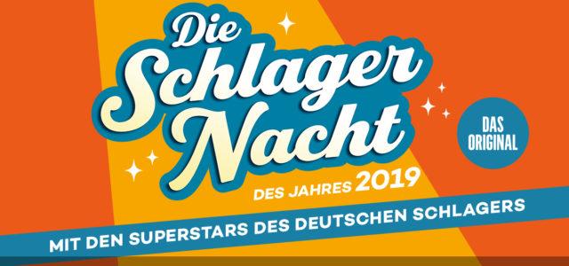 Die Schlagernacht des Jahres 2019 – Am 19.10.2019 in der Schleyerhalle in Stuttgart