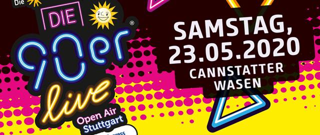 Die 90er Live 2020 in Stuttgart.