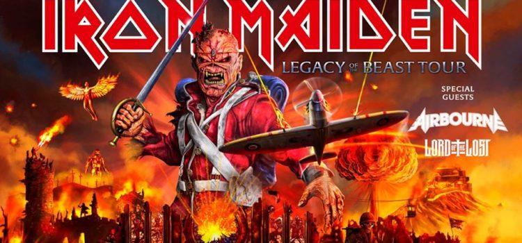 Iron Maiden kommen am 18.07.2020 in die Mercedes Benz Arena in Stuttgart.