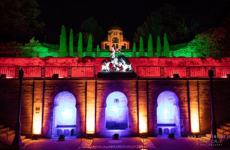 Der Christmas Garden Stuttgart verwandelt die Wilhelma auch 2020 in ein winterliches Lichtermeer.
