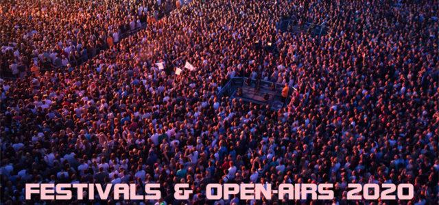 Open Airs und Festivals 2020. Entweder – Oder.