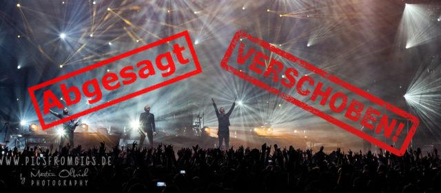 Übersicht der Konzertverlegungen und Konzertabsagen wegen Corona und aus anderen Gründen für den Grossraum Stuttgart