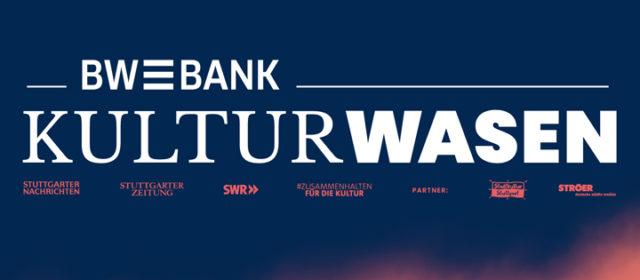 UPDATE-KULTURWASEN: Der KULTURWASEN wird zum BW-BANK KULTURWASEN. Neue Acts und Filme bestätigt.
