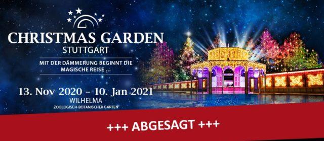 Der Christmas Garden 2020 in Stuttgart muss abgesagt werden
