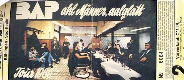 BAP – 11.05.1986 – Böblingen – Sporthalle