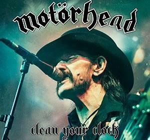 """Motörhead – """"Clean Your Clock""""- Live-Set erscheint am 27.Mai 2016"""