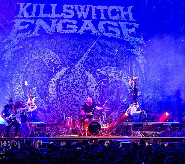 Killswitch Engage // 11.02.2019 // Stuttgart // Schleyerhalle