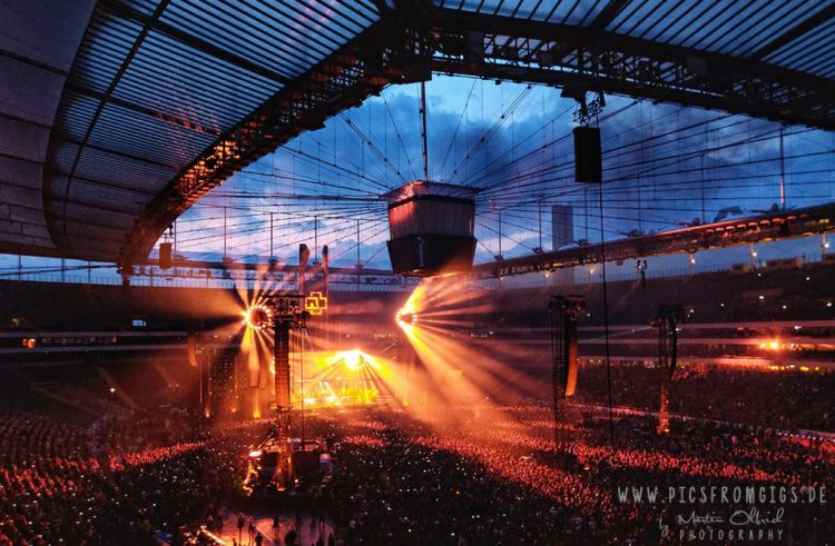 Rammstein Stuttgart 2022. So sieht die Location auf dem Cannstatter Wasen aus.