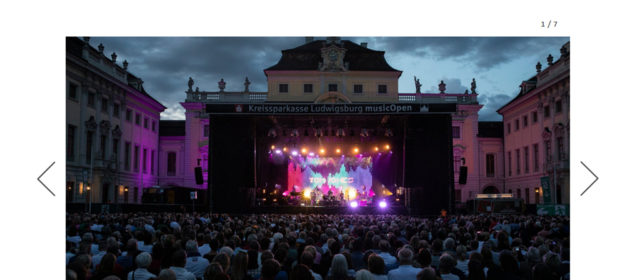 Tom Jones Bilder von seinem Auftritt bei den KSK-Music Open 2019 auf der SWR1-Website