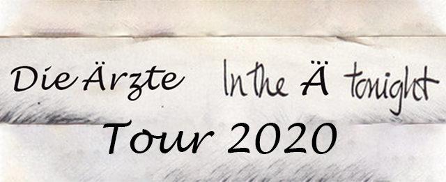 Best Tour-Name ever: Die Ärzte gehen 2020 mit neuem Album auf Tour. Am  20.11.2020 in Stuttgart in der Schleyerhalle