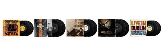Bruce Springsteen veröffentlicht 5 Alben auf Vinyl