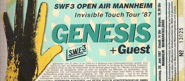 Genesis // 20.06.1987 // Mannheim // Maimarktgelände