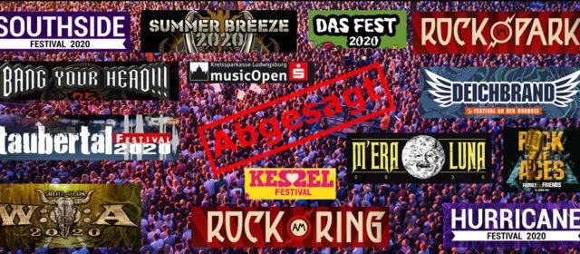 Der Festival-Sommer 2020 fällt aus.