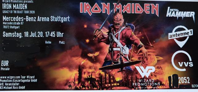 Iron Maiden Ersatztermine für 2022 stehen fest.
