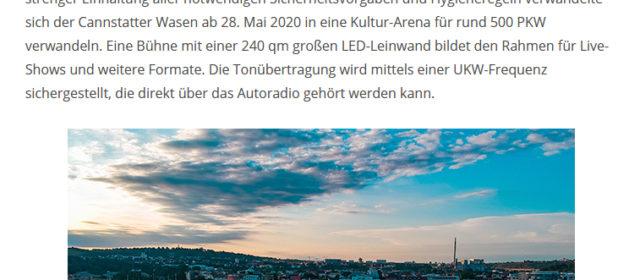 Bildbeitrag zum Kulturwasen-Stuttgart im Arsmondo Online Magazin