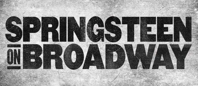 Bruce Springsteen back on Broadway