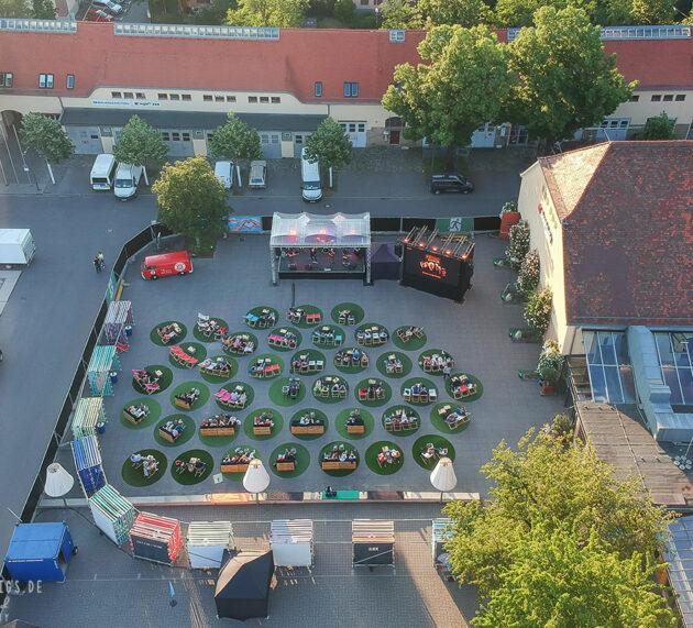 Die Kultur kehrt mal wieder zurück. Eröffnung des Römer-Kastell-Sommer 2021